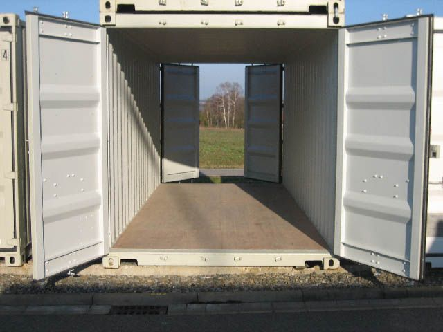 20 39 seecontainer robust double door lagercontainer. Black Bedroom Furniture Sets. Home Design Ideas